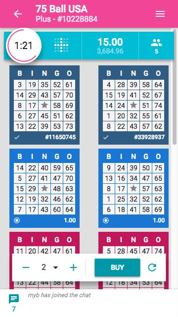 Mobile Bingo 1